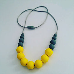 Baby Safe teething jewellery from Mama Knows available from Wonder of Kin - Curating Independent brands.