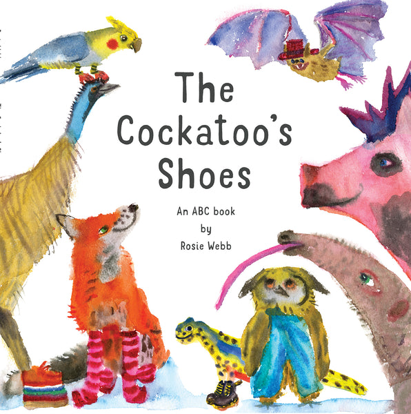 The Cockatoo's Shoes children's book by Rosie Webb. Available from Wonder of Kin - Curating Independent Brands.