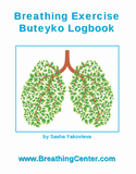 Breathing Exercise Logbook Front Cover