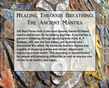 Healing Through Breathing: The Ancient Mantra Rear Cover