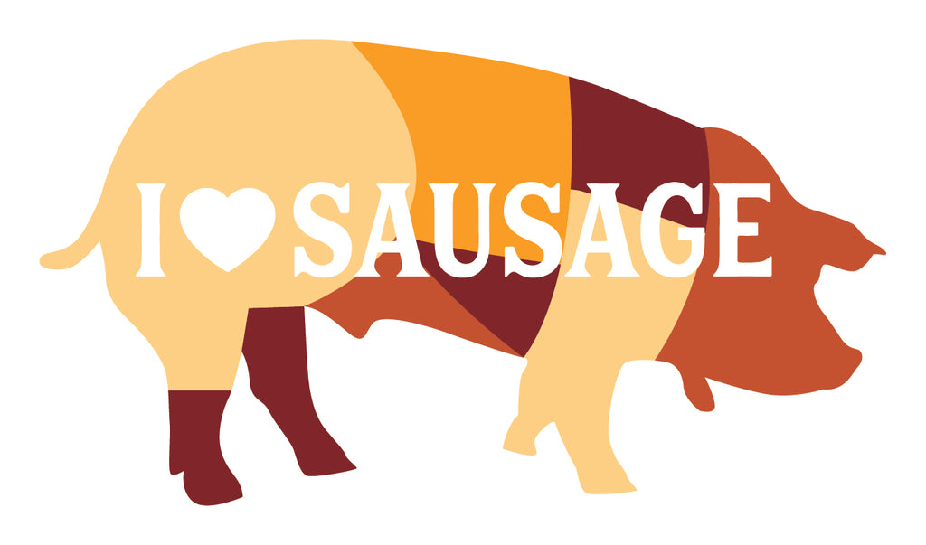 I LOVE SAUSAGE BOX