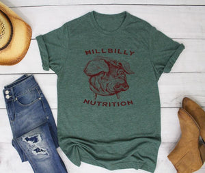 Hillbilly Nutrition Pig T-Shirt