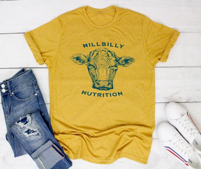 Hillbilly Nutrition Cow T-Shirt