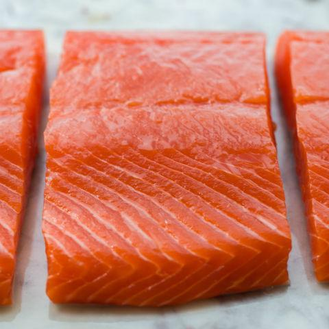 Wild Caught Alaskan Salmon Portions