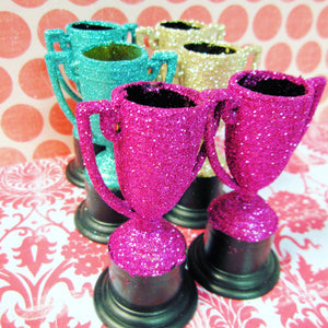 Glittered Party Favors