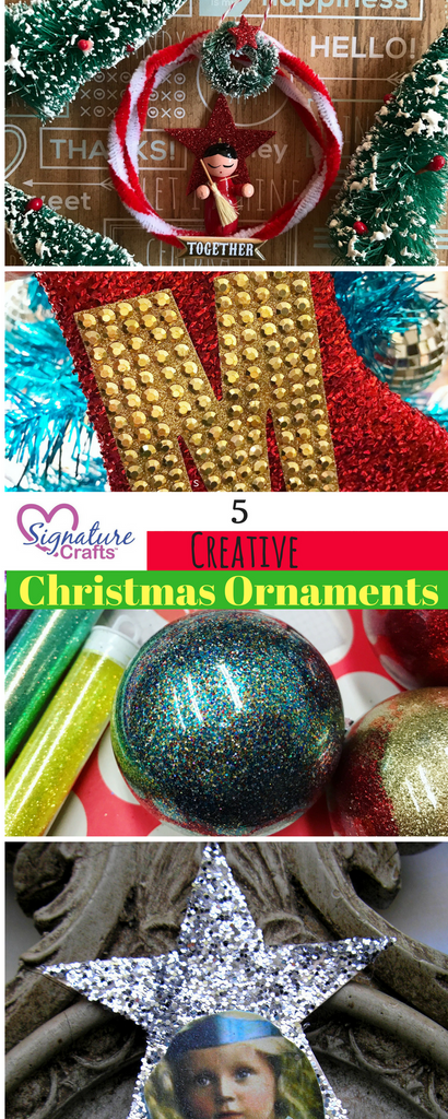 5 Creative Christmas Ornaments