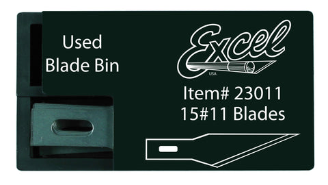 Excel Carded #11 Double Honed Blade - 15pcs. Dispenser