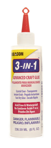 3-in-1 Advanced Craft Glue 8oz