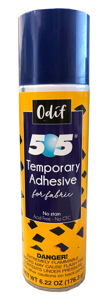 505 Temporary Fabric Adhesive