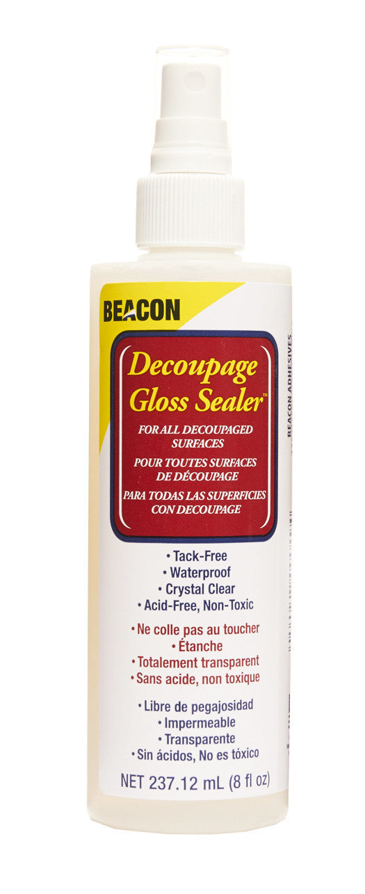 Decoupage Gloss Sealer 8oz