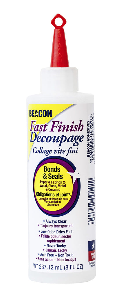 Fast Finish Decoupage 8oz