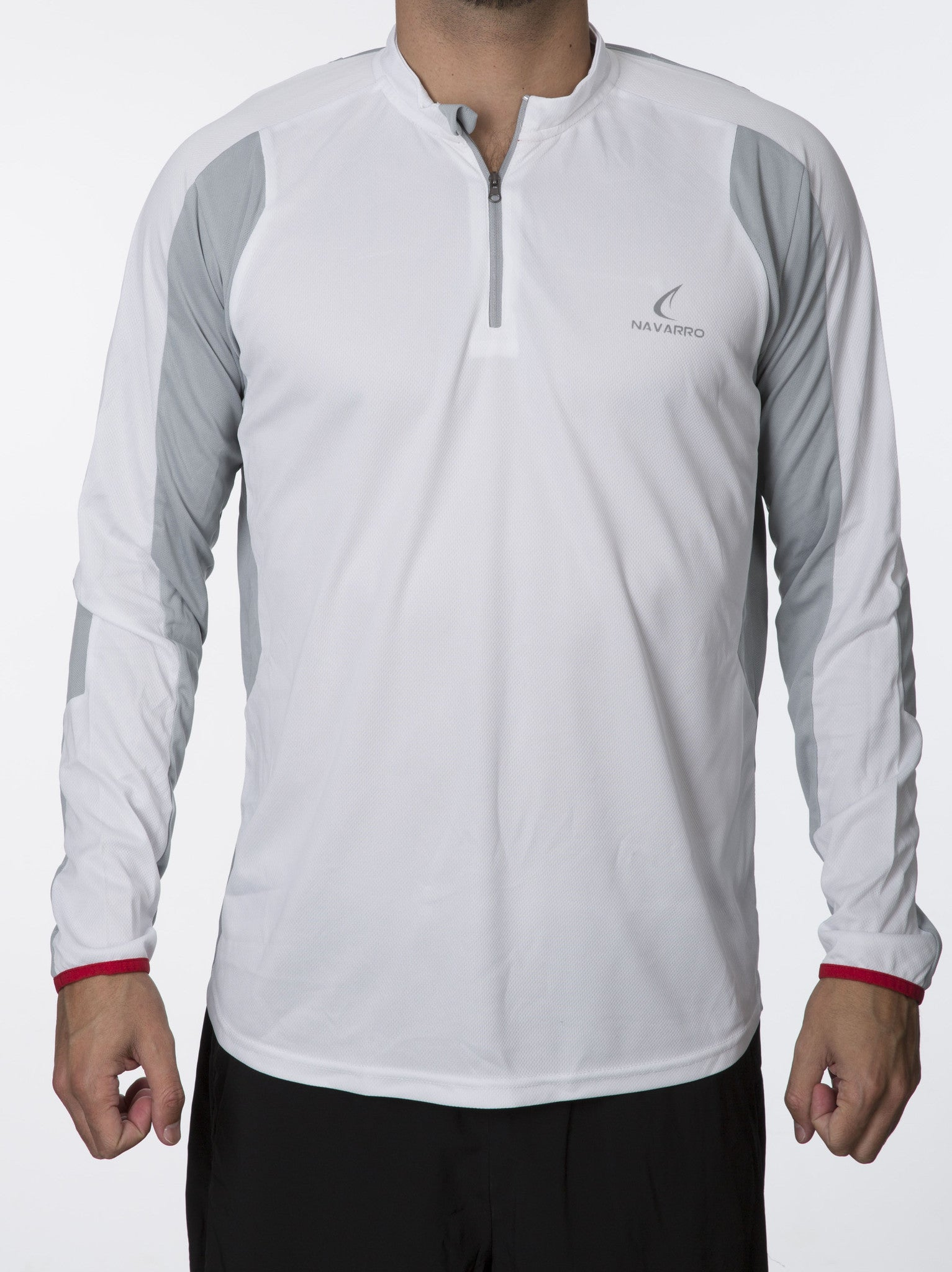 Men's Cycling Zipper Long-Sleeve Shirt