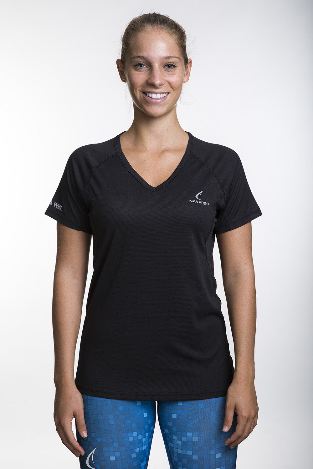 Women's Lightweight Running T-Shirt - Black