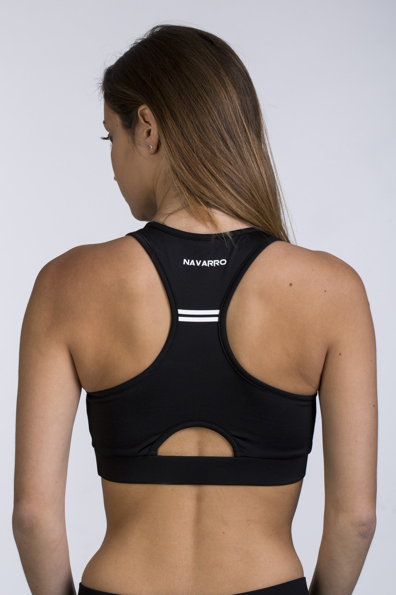 Women's W1 Sports Bra Top - Black