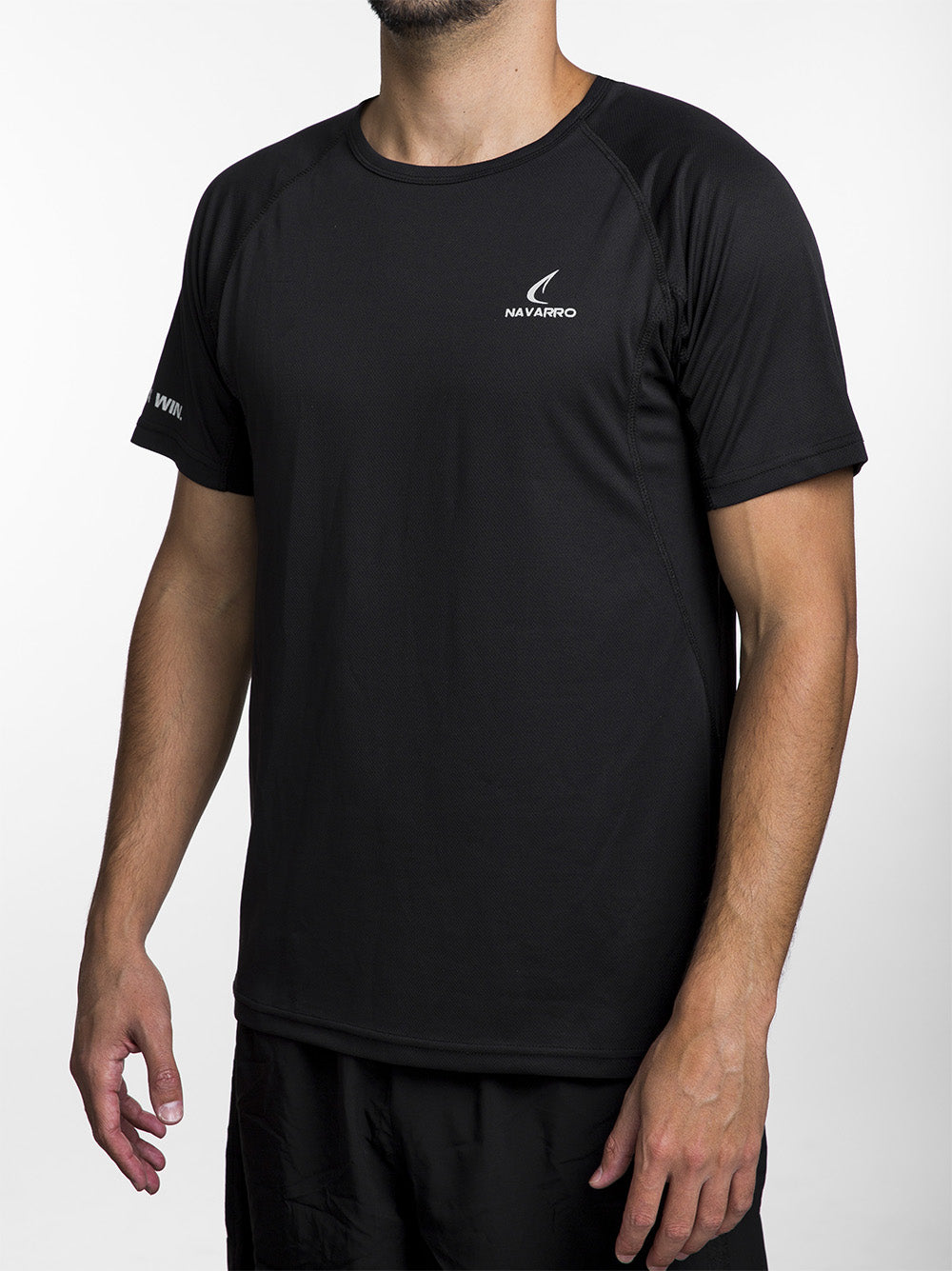 Men's Running Lightweight T-Shirt - Black
