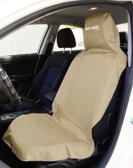 SEAT-SAVER Car Seat Waterproof Cover - Beige
