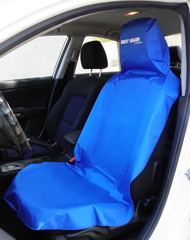 SEAT-SAVER Car Seat Waterproof Cover - Blue