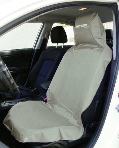 SEAT-SAVER Car Seat Waterproof Cover - Grey