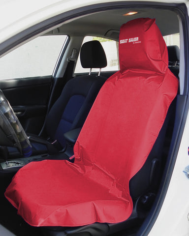 SEAT-SAVER Car Seat Waterproof Cover - Red