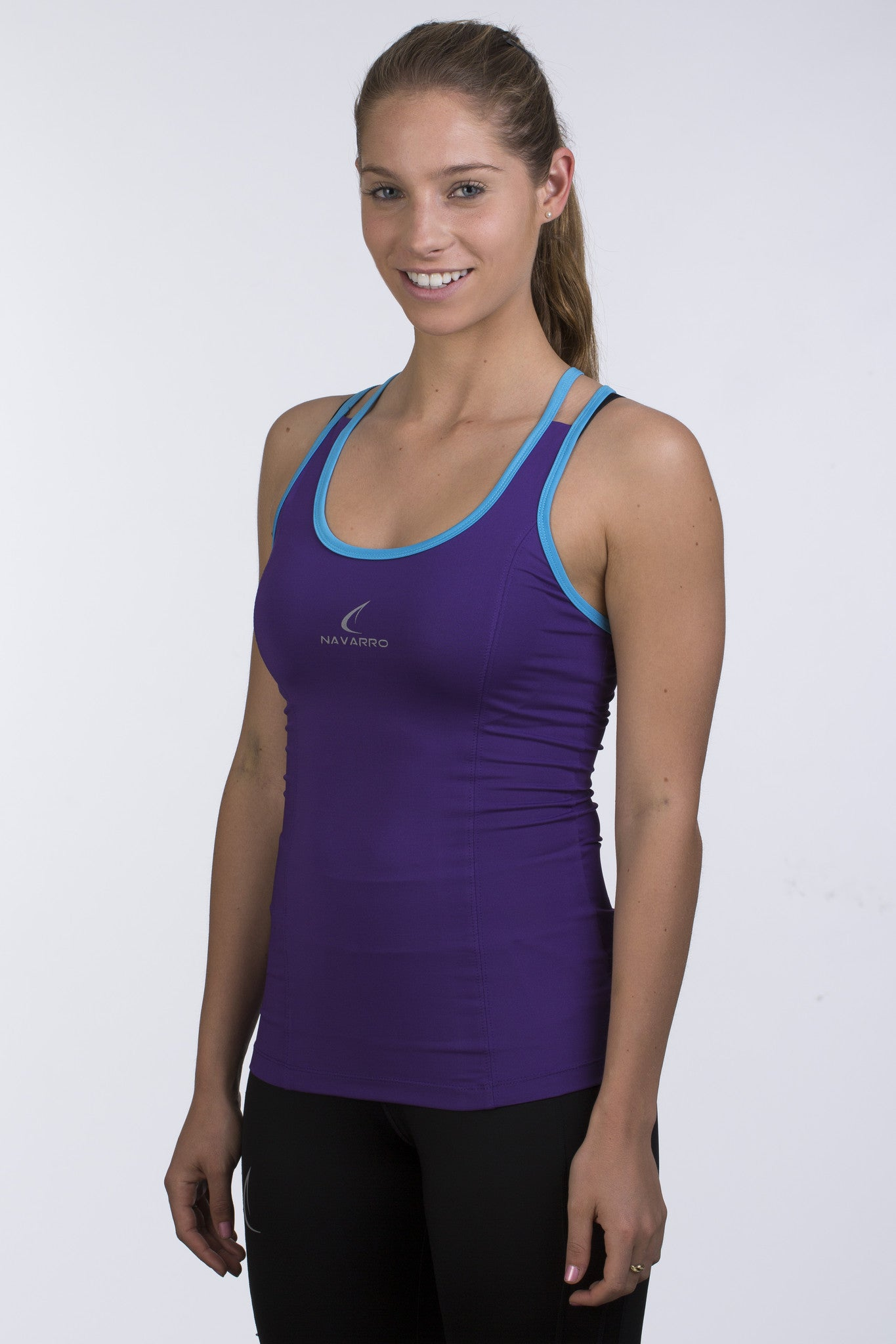 Women's W1 Shape Tank Top - Purple