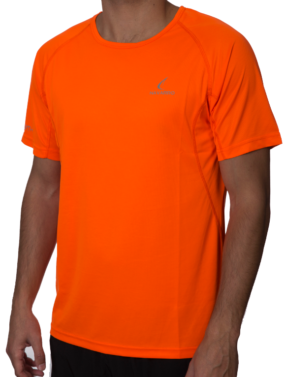 Men's Running Lightweight T-Shirt - Orange