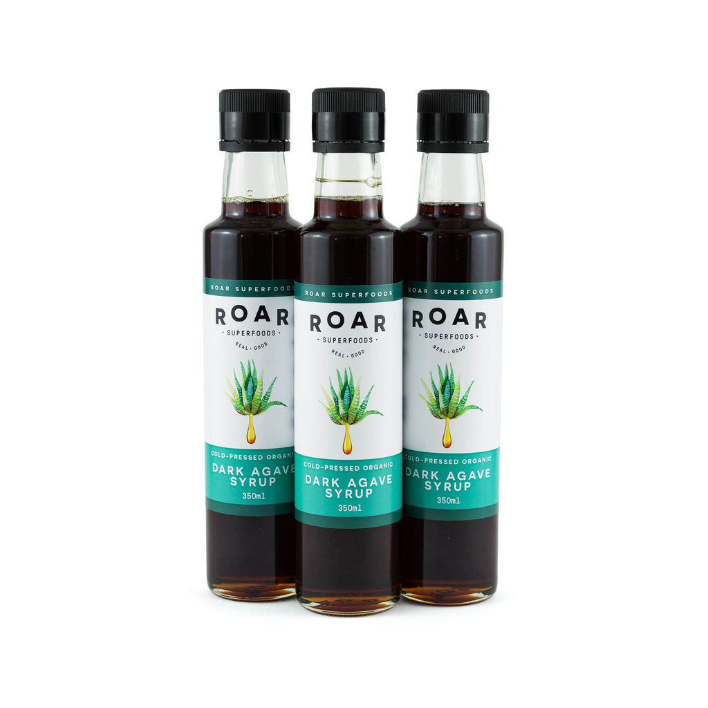 Roar Superfoods - Raw Organic Cold-Pressed Dark Agave Syrup