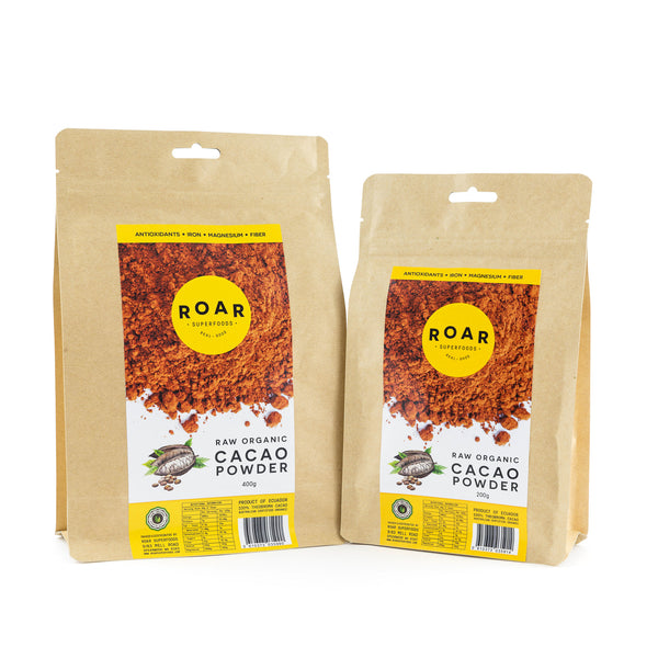 Roar Superfoods - Raw Organic Cacao Powder