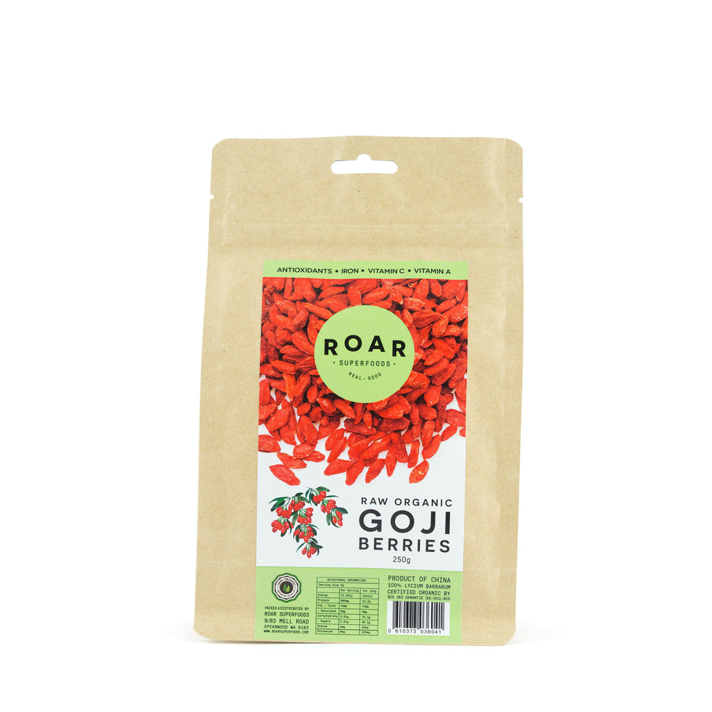 Roar Superfoods - Raw Organic Goji Berries