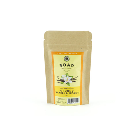 Roar Superfoods - Raw Organic Ground Vanilla Beans