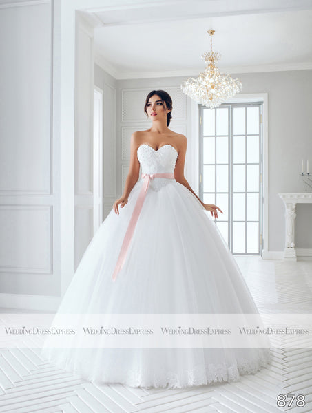Ballgown Wedding Dress with beading