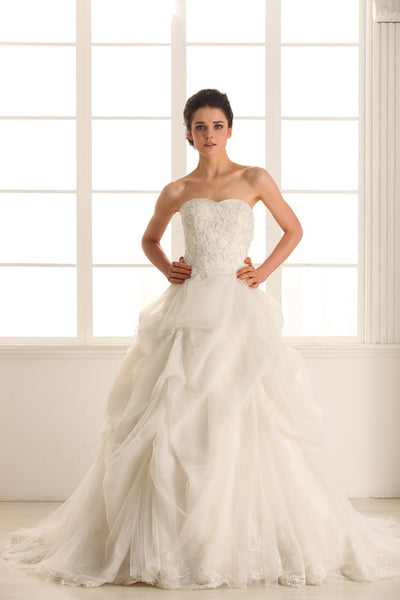 Ball gown wedding dress inspired by Vera