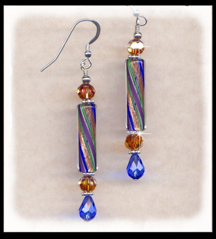 Blue Horizons, Earrings, Jewelry By Renee - Jewelry By Renee