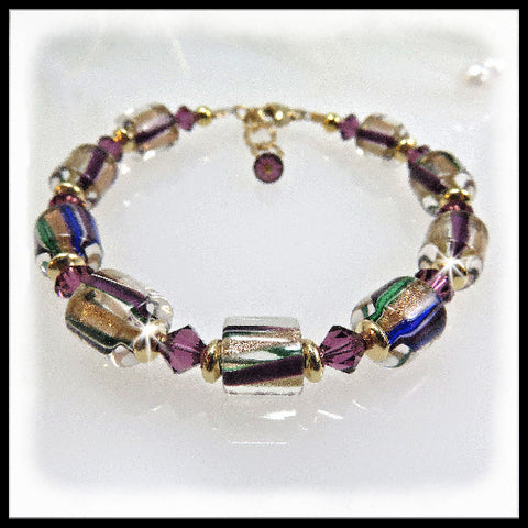 Purple Moon, Bracelets, Jewelry By Renee - Jewelry By Renee