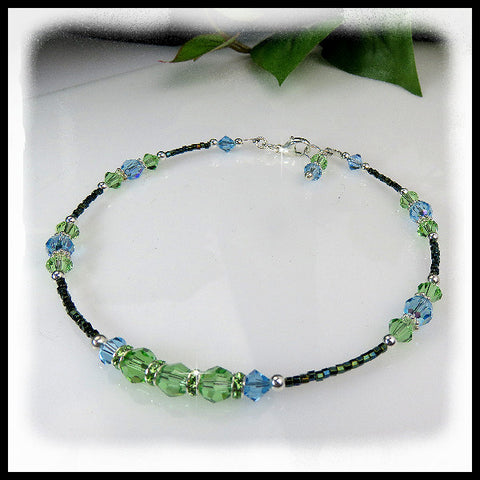 Garden Medley, Anklets, Jewelry By Renee - Jewelry By Renee