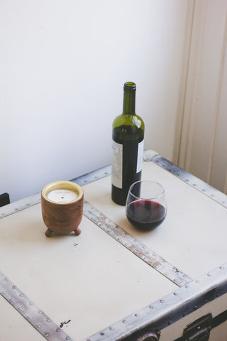 Wine Under the Tree Barrel Aged Candle