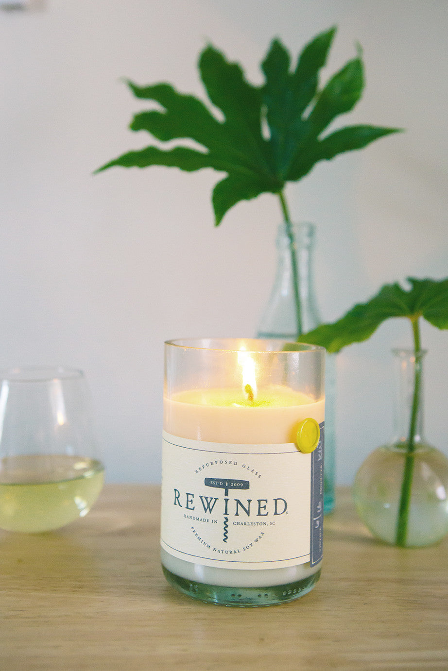 The Original Rewined Candle Chenin Blanc Scented Shop