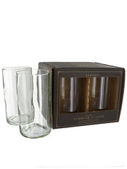 Wine Bottle Tumbler Glasses (Clear)