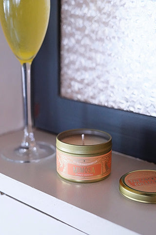 Mimosa and Bloody Mary Brunch Candle Gift Set