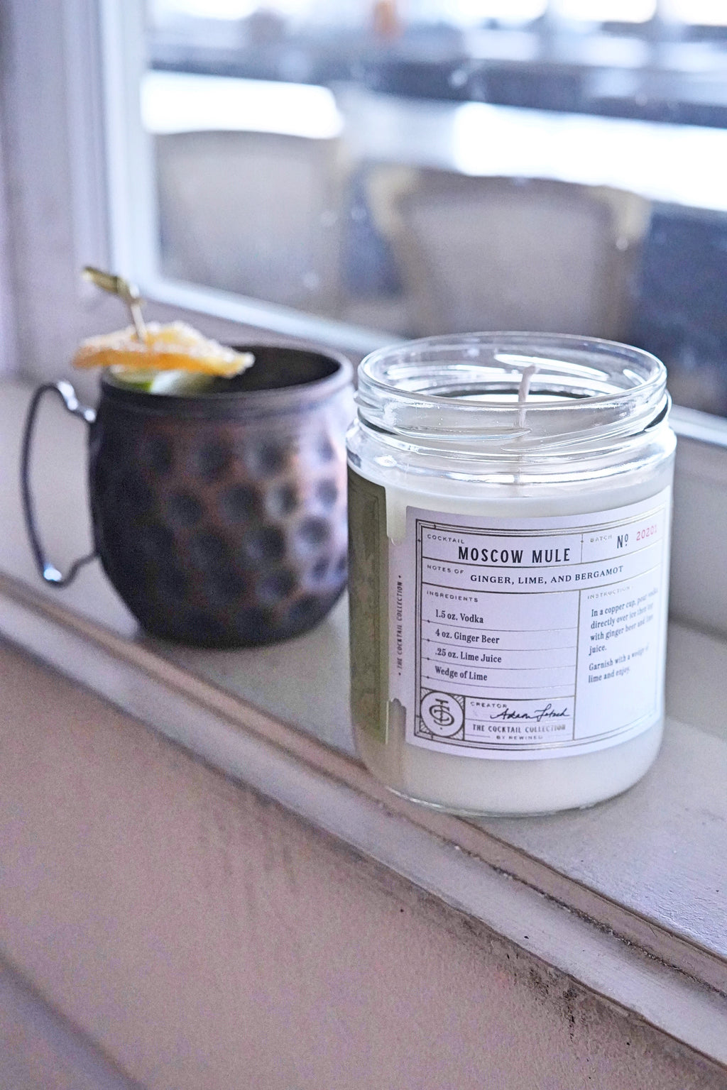 Moscow Mule 12 oz. Candle