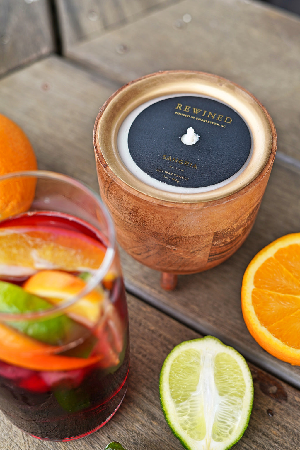 Sangria Barrel Aged Candle