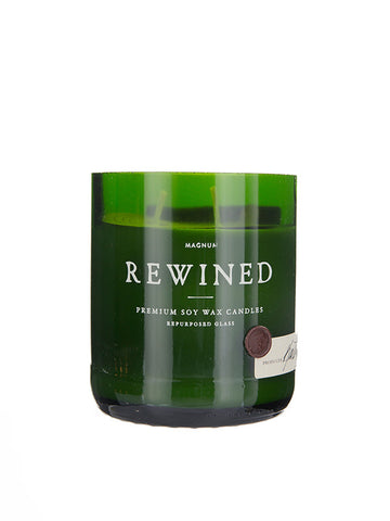 Wine Bottle Tumbler Glasses (Green)
