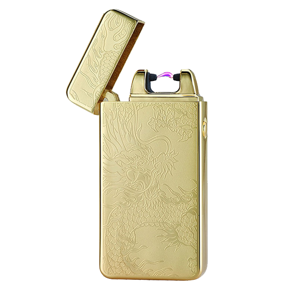 Midas Gold Rechargeable Windproof Lighter