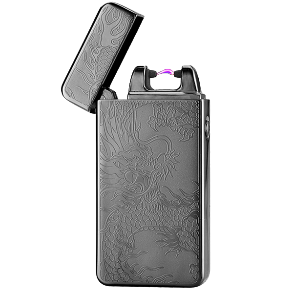 Black Dragon Rechargeable Windproof Lighter