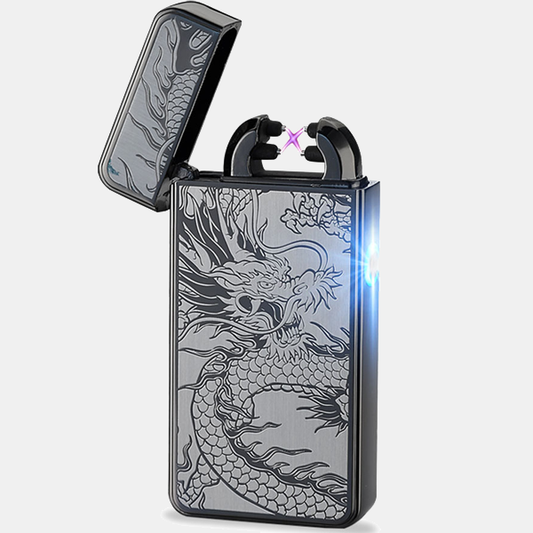 Grey Dragon Rechargeable Windproof Lighter