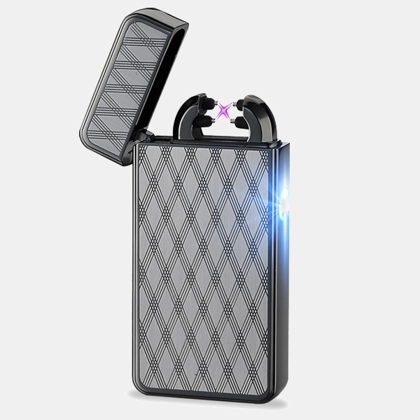 Black Night Rechargeable Windproof Lighter