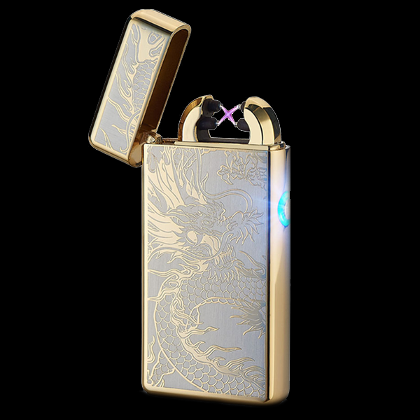 Golden Dragon Rechargeable Lighter