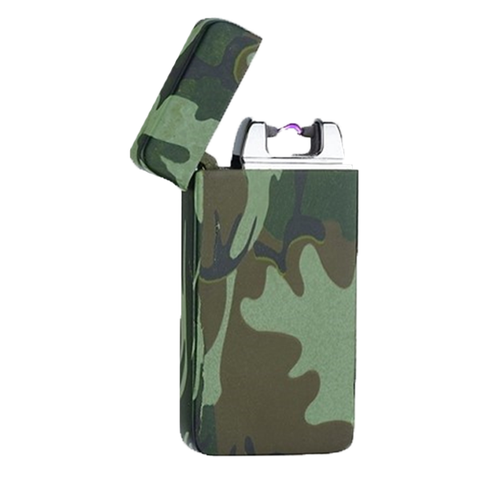 Camouflage Rechargeable Windproof Lighter