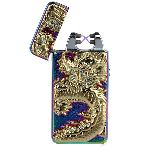 Dragon Rechargeable Windproof Lighter