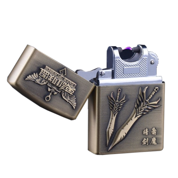 League Inspired Rechargeable Windproof Lighter