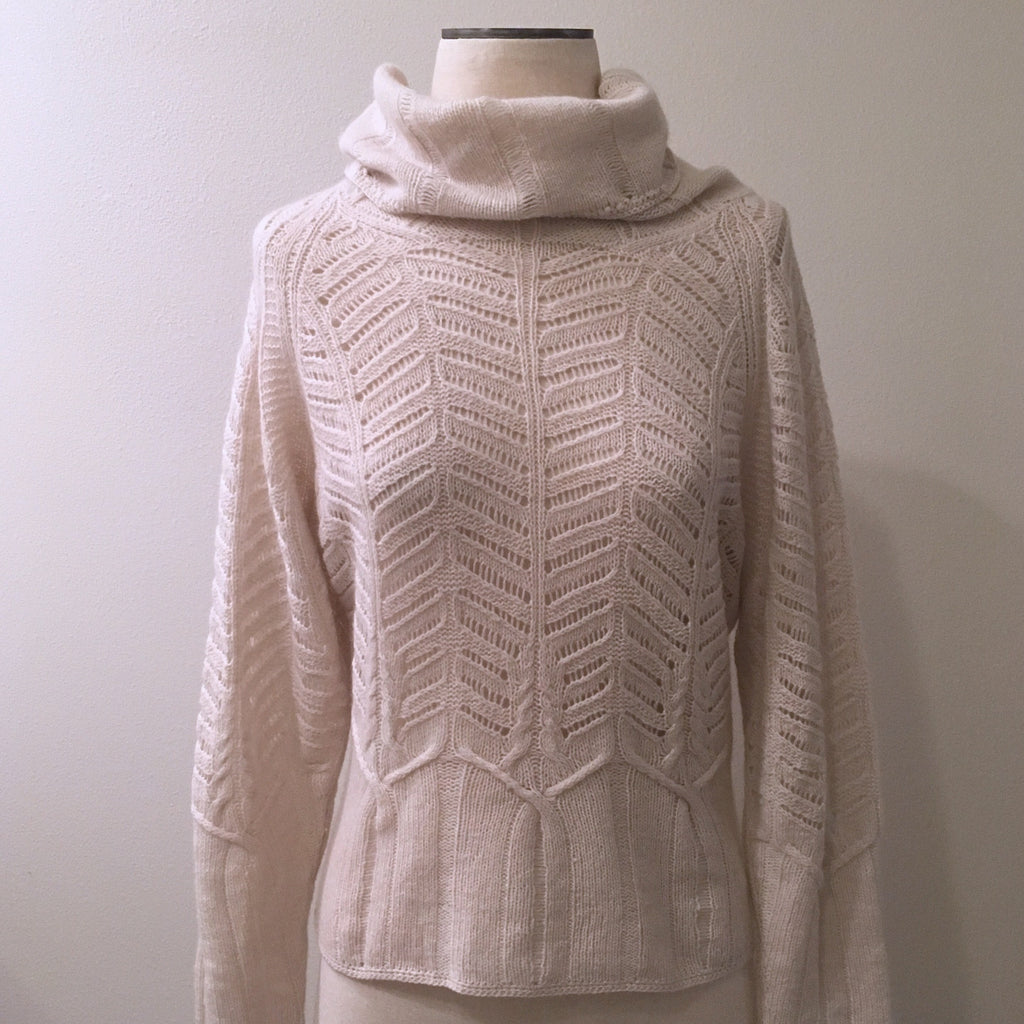TSE Cashmere Cutout Sweater
